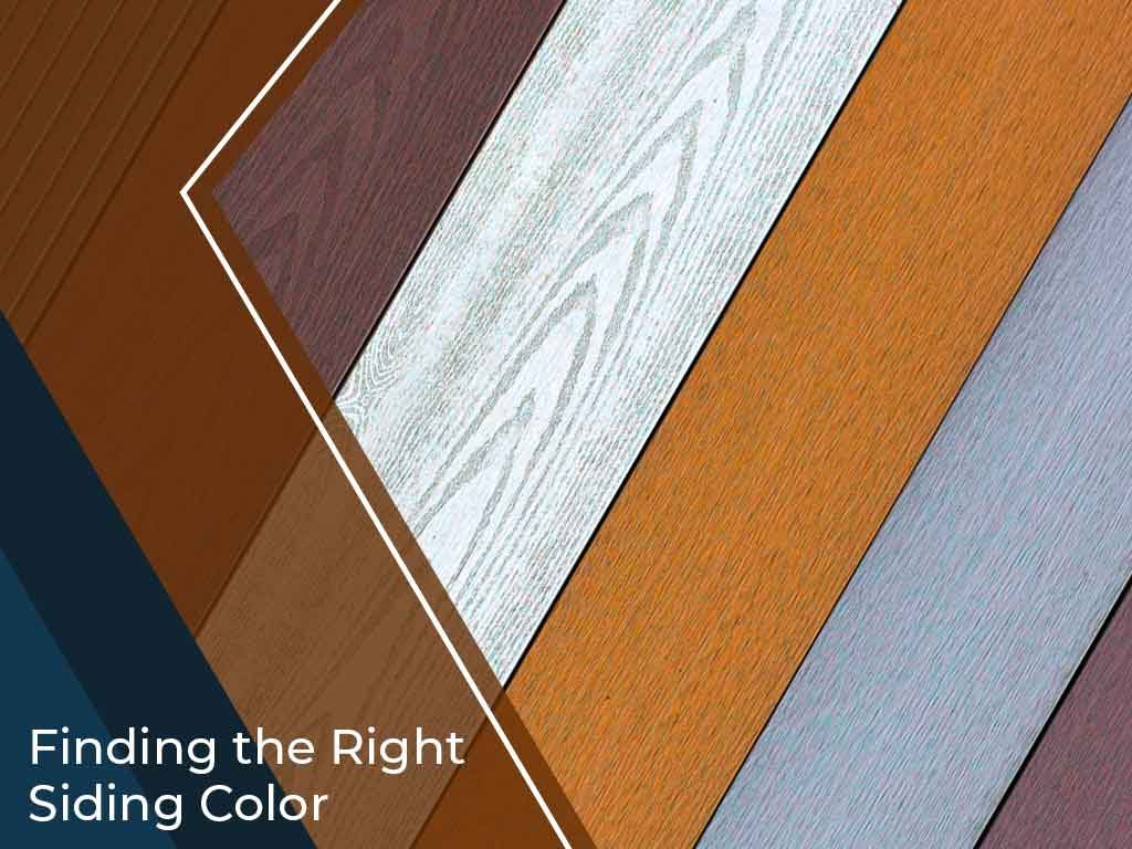 Finding the Right Siding Color